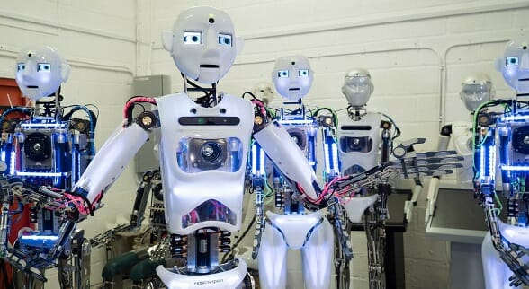 Steadily Increase in Role of Robots