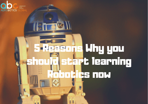 5 Reasons Why you should start learning Robotics now