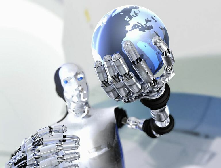 Three laws of Robotics used in Artificial intelligence