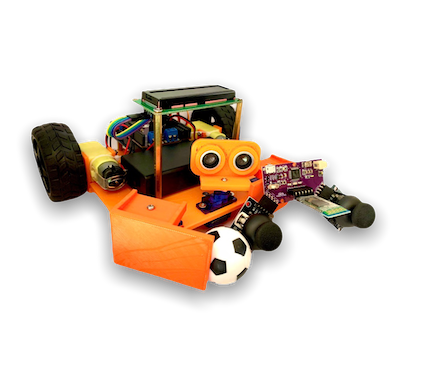Wireless Soccer Bot